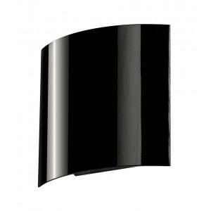 LED SAIL 1 applique arrondie noire 1x 3W LED 3000K