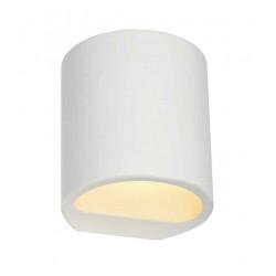 GL104 ROND PLASTRA applique plâtre blanc G9 max 42W