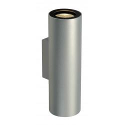 ENOLA_B UPetDOWN applique gris argentetnoire 2x GU10 max 50W