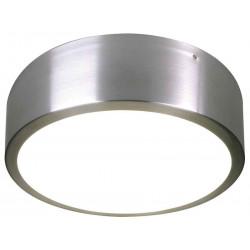MEDO LED plafonnier alu brossé SMD LED 18W 3000K