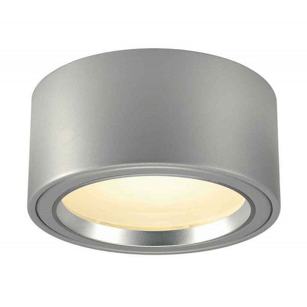 LED SURFACE SPOT 1800lm rond gris argent 48 LED 3000K