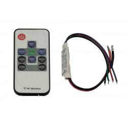 EASY LIM RF MINI RGB contrôleur maître 12VetDC et 24VetDC avec télécommande