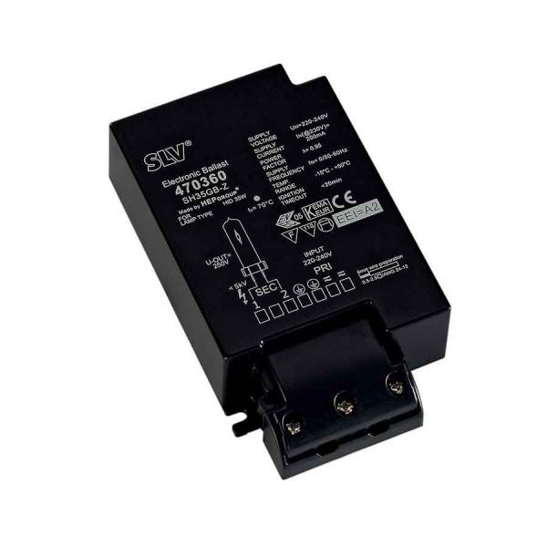 Ballast électronique HID pour CDM 35W 230V serre-câble inclus
