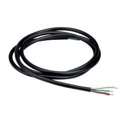 Câble de connexion 230V 3 pôles noir 2m