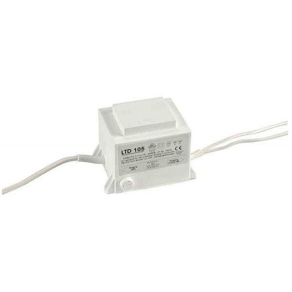 TRANSFORMATEUR 105VA 12V fusible au primaire inclus