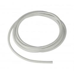 CABLE TEXTILE 10m blanc 3 pôles