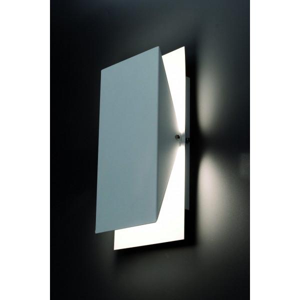 Applique murale blanche luminaire design faro for Applique murale exterieur orientable
