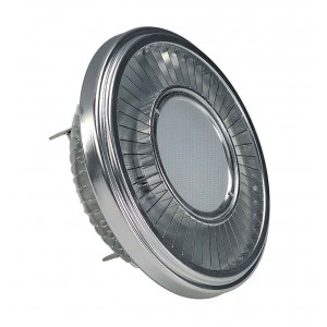 LED QRB111 gris argent 195W 140° 4000K variable