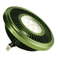 LED QRB111 vert 195W 30° 2700K variable