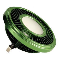 LED QRB111 vert 195W 140° 2700K variable