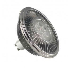 LED ES111 gris argent 175W 30° 2700K variable