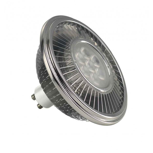 LED ES111 gris argent 175W 30° 2700K variable