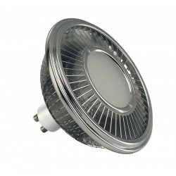 LED ES111 gris argent 175W 140° 2700K variable
