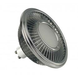 LED ES111 gris argent 175W 140° 4000K variable IRC 90