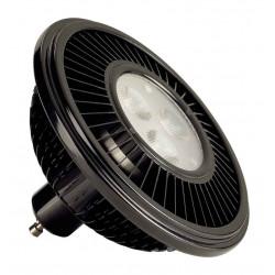 LED ES111 noir 155W 30° 2700K
