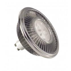 LED ES111 gris argent 155W 30° 2700K