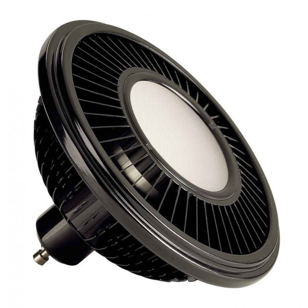 LED ES111 noir 155W 140° 2700K