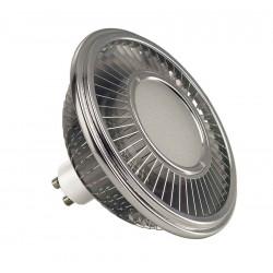 LED ES111 gris argent 155W 140° 2700K
