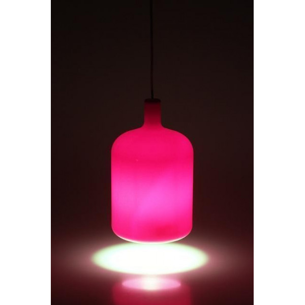 Suspension lampe Bulb rose