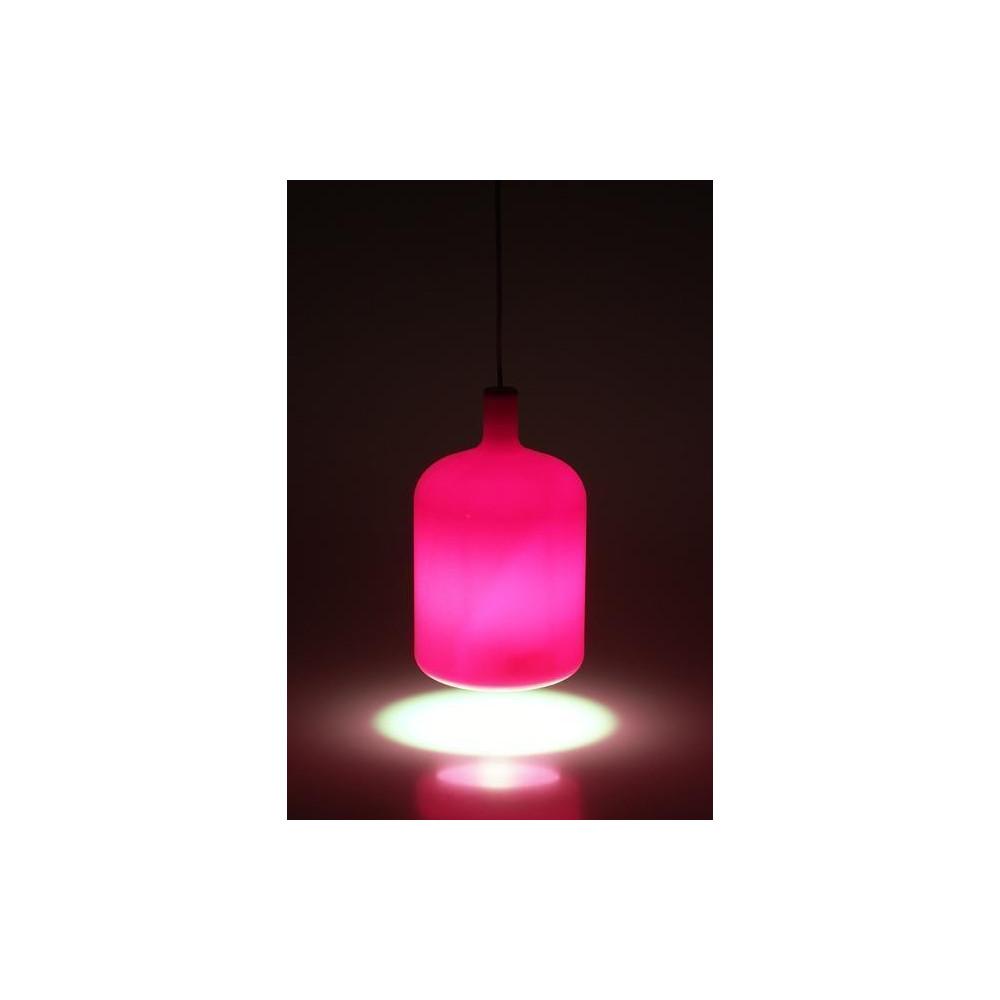 suspension lampe bulb rose un luminaire bob design. Black Bedroom Furniture Sets. Home Design Ideas