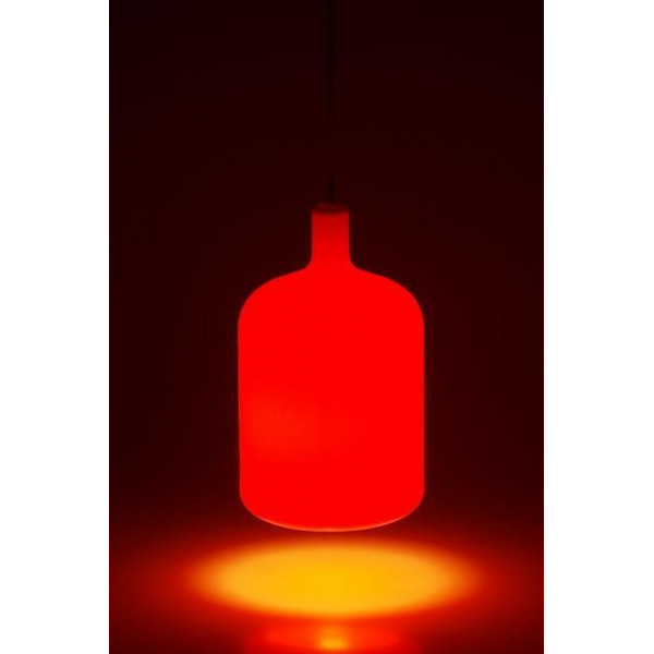 Suspension lampe Bulb rouge