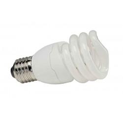E27 15W lampe éco énergie forme spirale 2700K