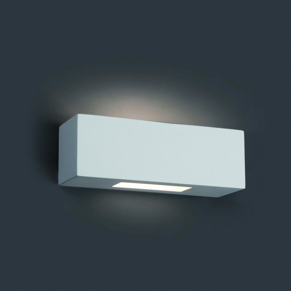 Applique murale blanche rectangle luminaire faro for Applique murale exterieur blanche