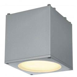 BIG THEO PLAFONNIER carré gris argent ES111 max 75W