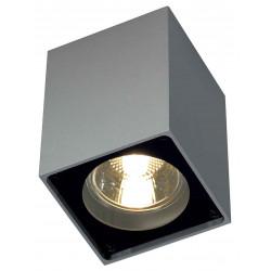 ALTRA DICE CL-1 plafonnier carré gris argentetnoir GU10 max 35W