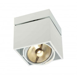 KARDAMOD SURFACE CARRE ES111 SINGLE plafonnier blanc GU10 max 75W