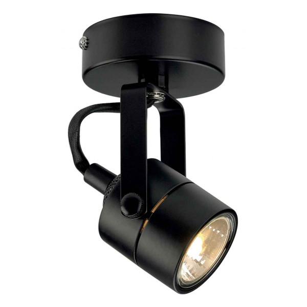 SPOT 79 230V applique et plafonnier noir GU10 max 50W
