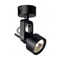 INDA SPOT GU10 applique et plafonnier noir max 50W