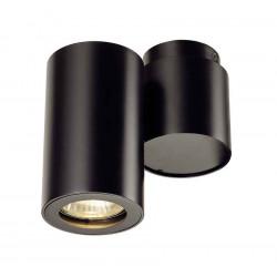 ENOLA_B SPOT 1 applique et plafonnier noir GU10 max 50W