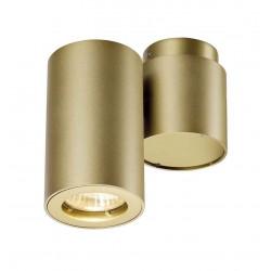 ENOLA_B SPOT 1 applique et plafonnier laiton GU10 max 50W