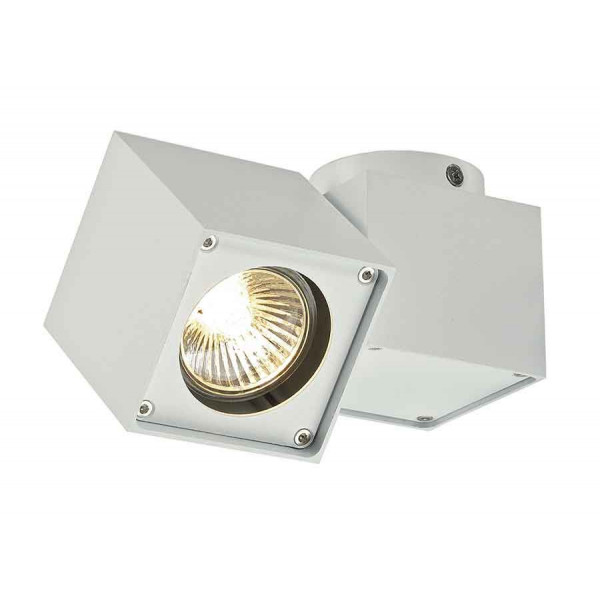 ALTRA DICE SPOT 1 plafonnier carré blanc GU10 max 50W