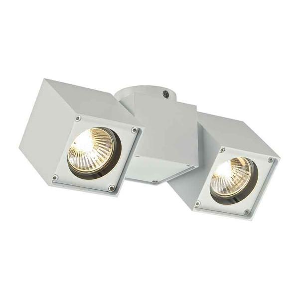 ALTRA DICE SPOT 2 plafonnier blanc 2x GU10 max 2x 50W
