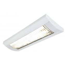 TRISTAN T8 plafonnier rectangulaire blanc 2x T8 18W