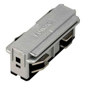 EUTRAC connecteur électrique gris argent