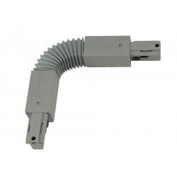 EUTRAC connecteur flex gris argent