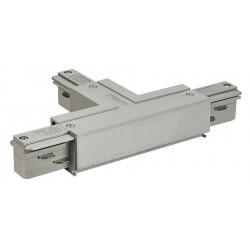 EUTRAC connecteur en T terre gauche gris argent