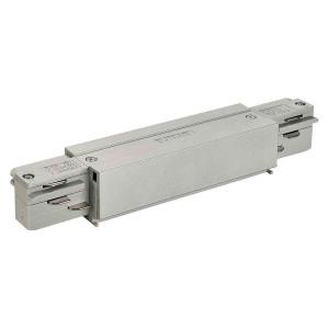 EUTRAC connecteur avec alimentation gris argent