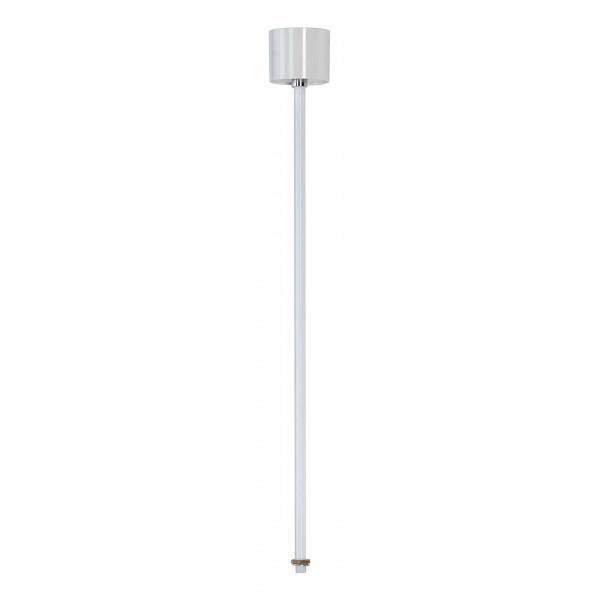 eutrac suspension rigide pour rail 3 allumages blanche 60cm. Black Bedroom Furniture Sets. Home Design Ideas