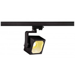 EURO CUBE spot noir LED 3000K 30° IRC 90 adaptateur 3 all inclus
