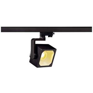 EURO CUBE spot noir LED 3000K 60° IRC 90 adaptateur 3 all inclus