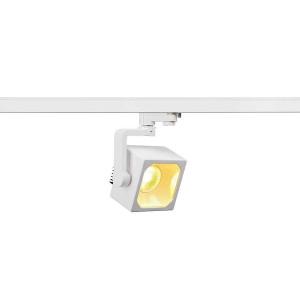 EURO CUBE spot blanc LED 3000K 60° IRC 90 adaptateur 3 all inclus