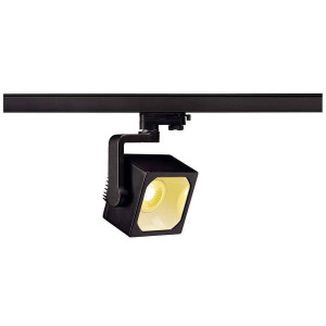 EURO CUBE spot noir LED 3000K 90° IRC 90 adaptateur 3 all inclus