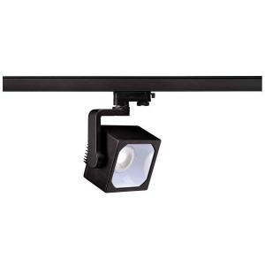 EURO CUBE spot noir LED 4000K 30° IRC 90 adaptateur 3 all inclus