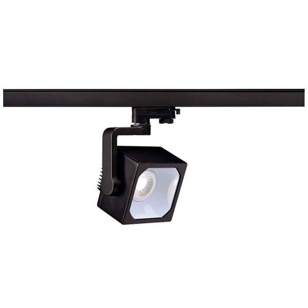 EURO CUBE spot noir LED 4000K 90° IRC 90 adaptateur 3 all inclus