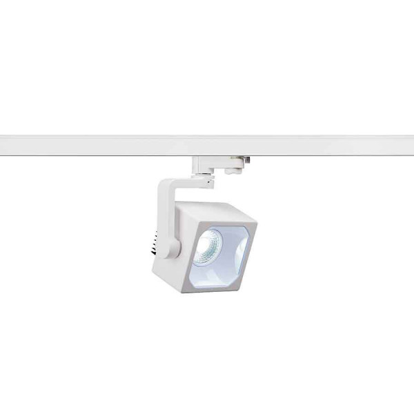 EURO CUBE spot blanc LED 4000K 90° IRC 90 adaptateur 3 all inclus