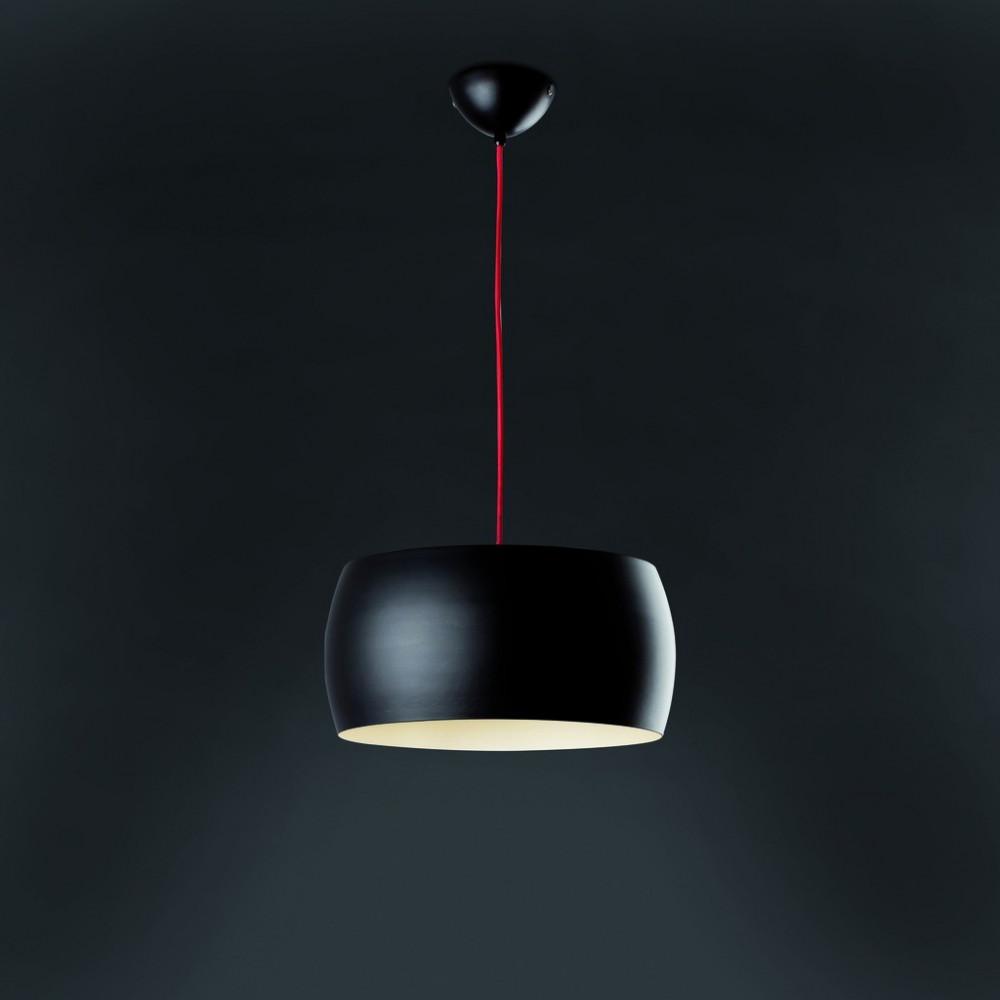 Suspension noire faro luminaire noir sur lampe avenue for Luminaire exterieur noir